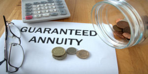 Guaranteed Annuity Rates (GARs)